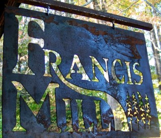 Francis Grist Mill Waynesville, NC