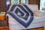 Make this simple Appalachian winter afghan project