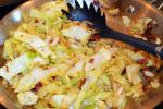 Garlic, Bacon, cabbage, recipes, country food