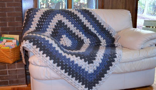 Make your own Appalachian winter afghan project